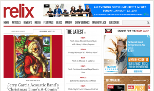 Relix Home Page