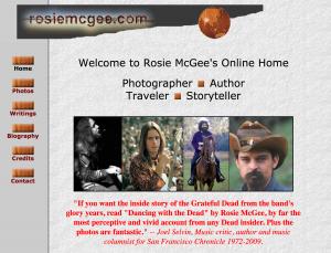 Rosie McGee's web site