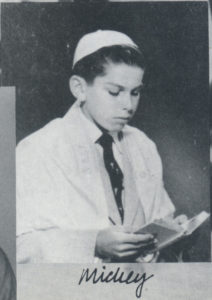 Mickey's Bar Mitzvah photo, circa 1956