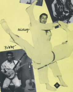 Mickey is a black belt in Judo and was European Lightweight Champion in 1964.