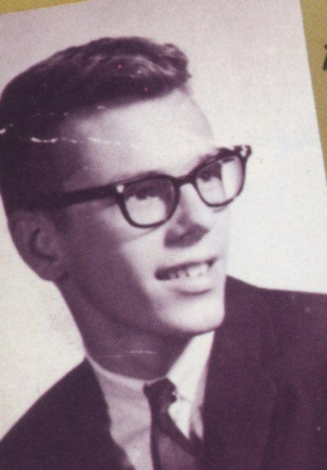 Page 20 Harry Popick, High school