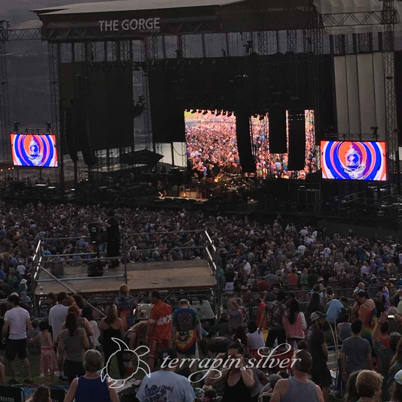 It's All About the Music-Dead & Co Gorge Amphitheater, 2017