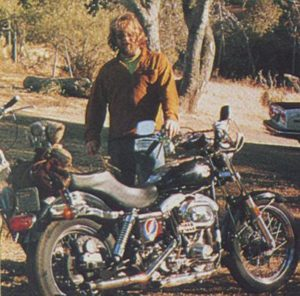Sonny Heard and his Harley